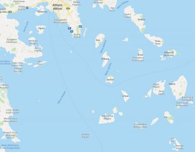 itinerary-greece-map