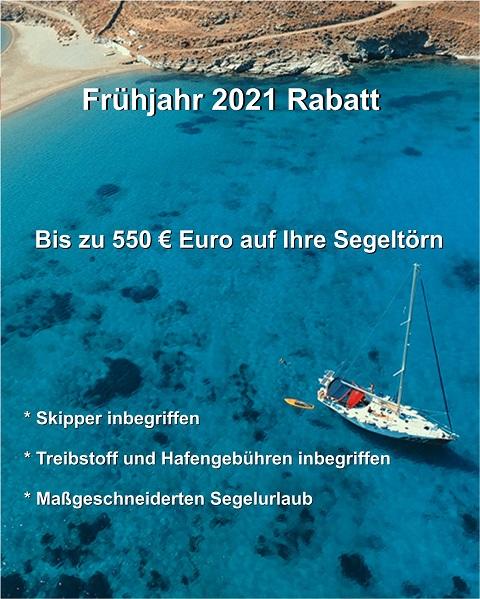Sonderangebot & Frühlingsrabatt 2021