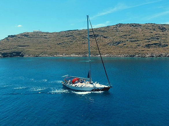 sailing the grek islands