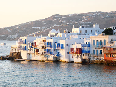 Mykonos sailing the Greek islands cyclades