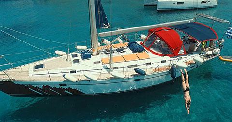 Greek islands Cyclades skippered yacht