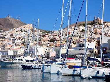 queen of the cyclades the greek island of syros